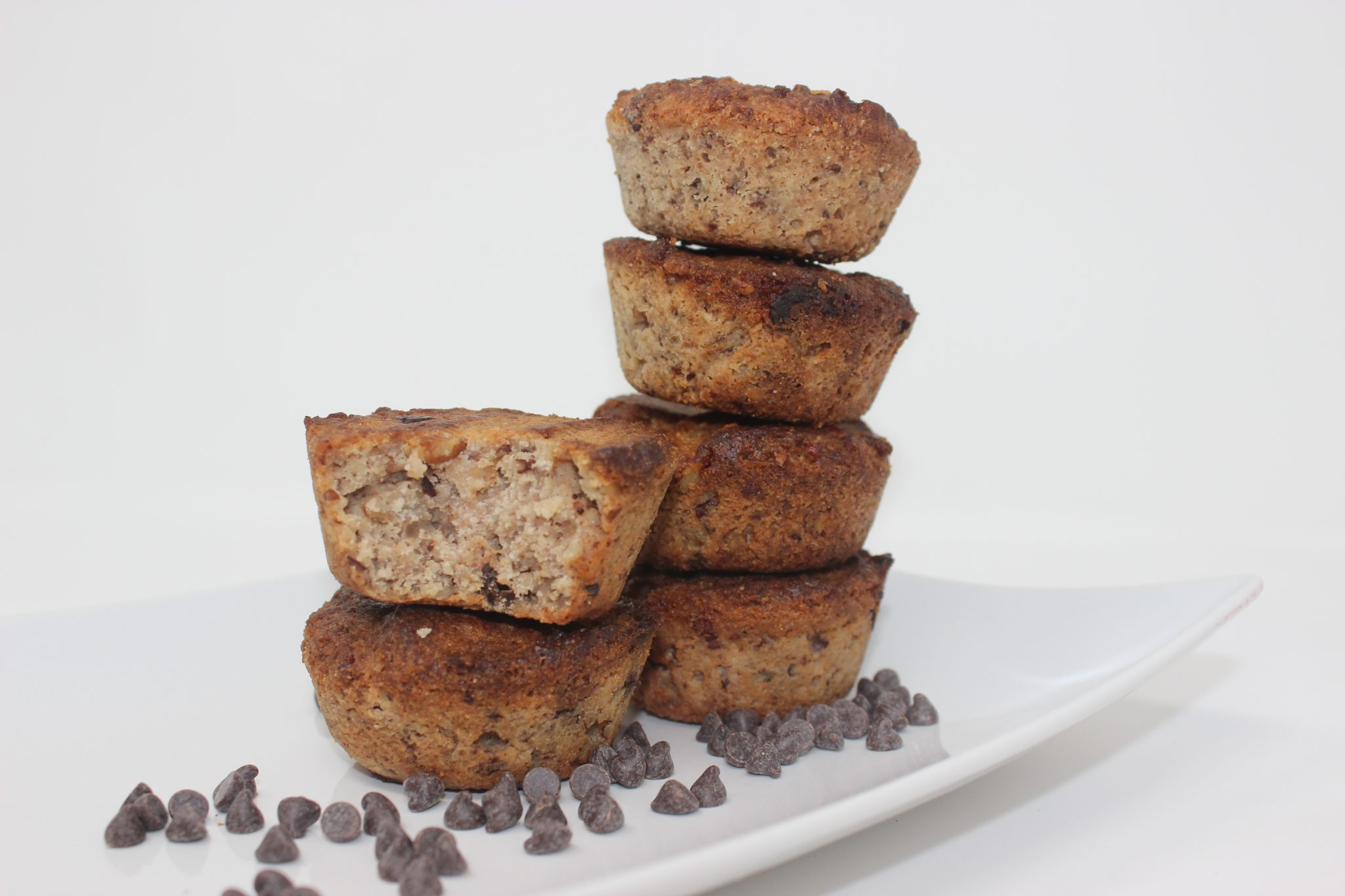 Chocolate Chip Pecan Muffins: Pack of 4