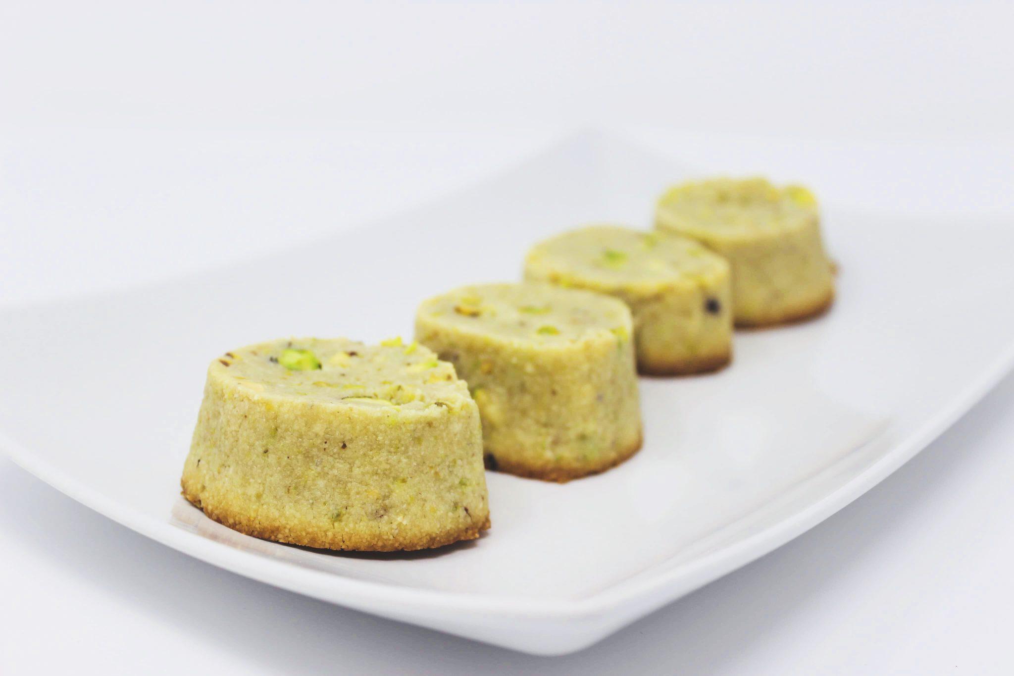 Pistachio Shortbread Cookies Bag Of 4